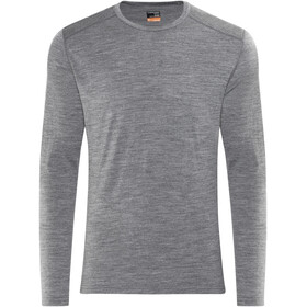 Icebreaker Oasis LS Crewe Shirt Men gritstone heather